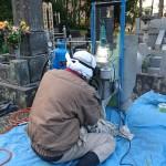 熱海市にて戒名の追加彫りをさせていただきました。