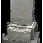 本小松石製 「縦長 洋型墓石」のご紹介