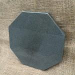 本小松石製 八角形の敷石のプレゼント