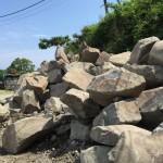 本小松石製、自然石墓石のお打ち合わせ