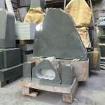 本小松石製、自然石墓石が製品として、ようやく完成しました!