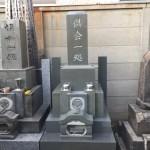 江東区の寺院墓地に「本小松石製の和型八寸角石塔」を建立いたしました。