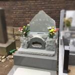 都立谷中霊園にて埋葬のお手伝い。