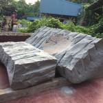 続「本小松石製、和型九寸角石塔 外柵」の製作