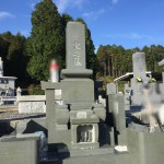 岐阜県に本小松石で製作した九寸角石塔と外柵のお墓が建立しました。