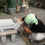 本小松石でRV車の製作