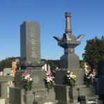 福島県に本小松石の尺二寸角宝篋印塔、尺二寸角和型石塔、外柵を建立しました。