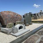 鎌倉市の墓地に本小松石製の自然石墓石が完成しました。