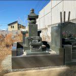 藤沢市の共同墓地に本小松石製_尺玉五輪塔(鎌倉型)を建立しました。